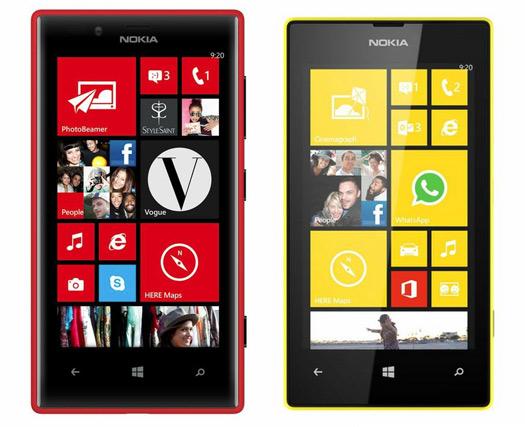 Nokia Lumia 720 y Lumia 520