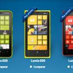 Nokia Lumia 620, Lumia 920 y Lumia 820 pronto en México