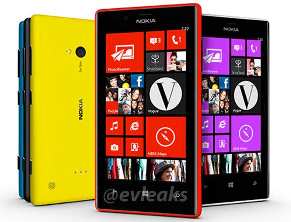 Nokia Lumia 720 oficial