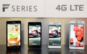 LG Optimus F5 y Optimus F7 con LTE son anunciados