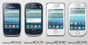 Samsung anuncia sus REX Series nuevos gama baja con ChatON y más