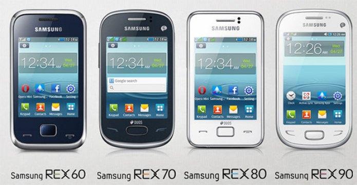 Samsung REX Series REX 60, REX 70, REX 80, REX 90
