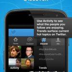 Twitter se actualiza para iPhone y Android con mejoras en búsqueda y descubre