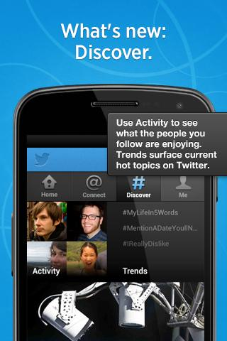 Twitter se actualiza para Android