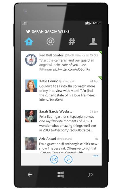 Nuevo Twitter para Windows Phone con Live tiles y nuevas pestañas
