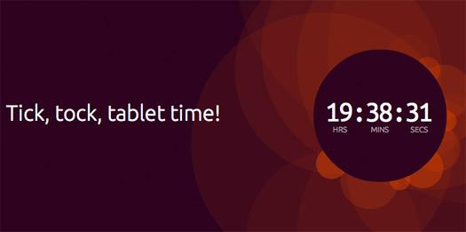 Ubuntu para tablets tick, tock, tablets time!
