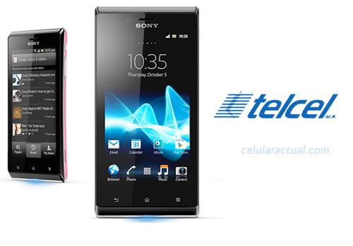 Sony Xperia J Telcel México