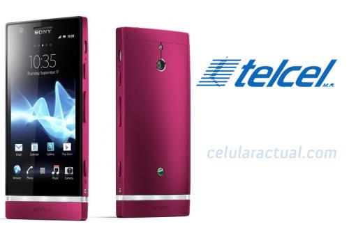 Sony Xperia P en color rosa en  México con Telcel