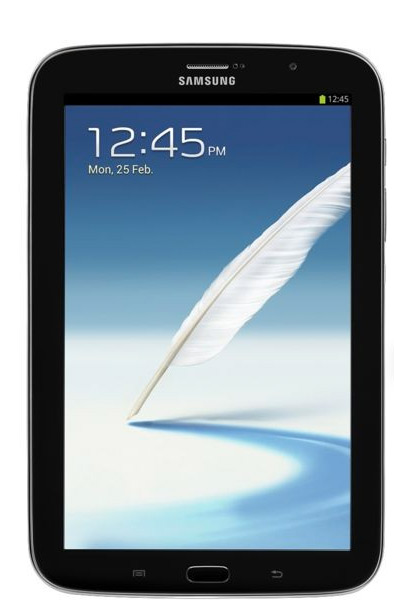 Samsung Galaxy Note 8.0 en color Negro (Charcoal Black)