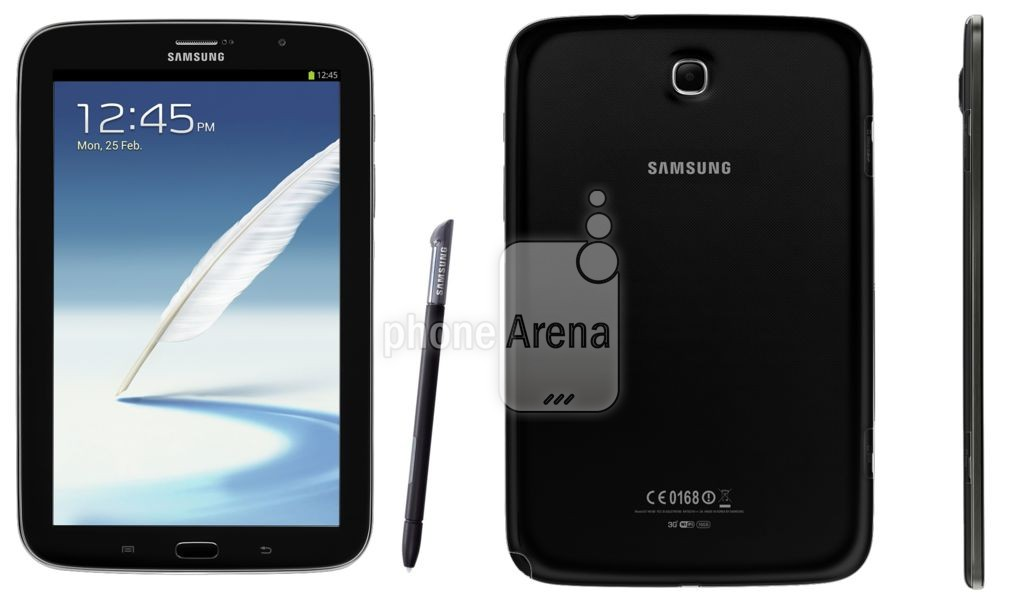 Samsung Galaxy Note 8.0 en color Negro (Charcoal Black)