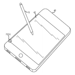 Patente de Apple Stylus con iPhone