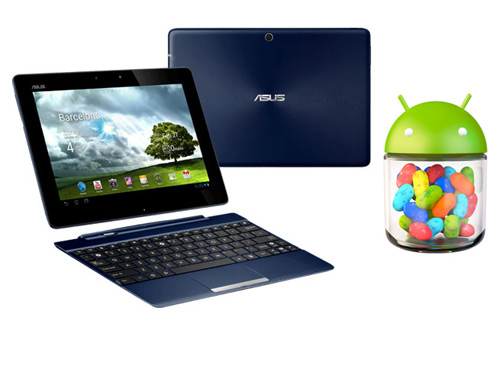 ASUS Transformer Pad TF300 con Android 4.2.2 Jelly Bean