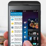BlackBerry Z10 primer actualización con mayor duración de batería y más