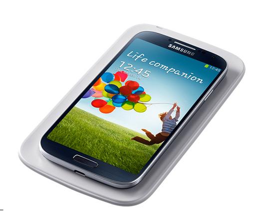 Samsung Galaxy S IV Wireless Pad Cover para carga inalámbrica