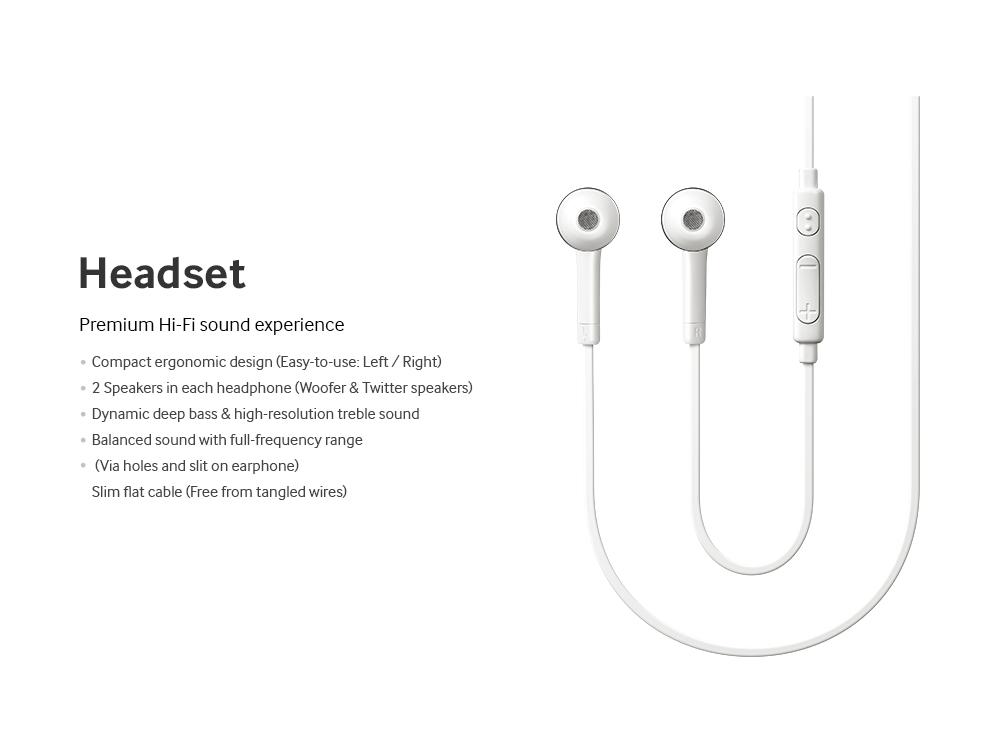 Galaxy S 4 Headset Audífonos