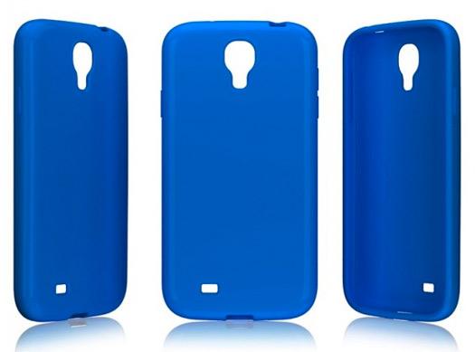 Galaxy S IV cubiertas azules