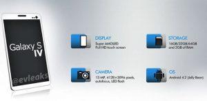 Imagenes del Samsung Galaxy S IV filtradas