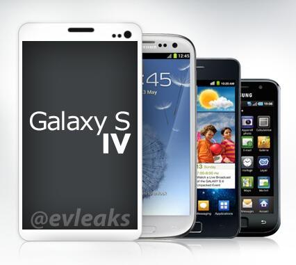 Samsung Galaxy S IV imagen filtrada comparación con anteriores Galaxy S I, II y III