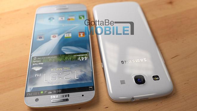 Render del Galaxy S IV no oficial