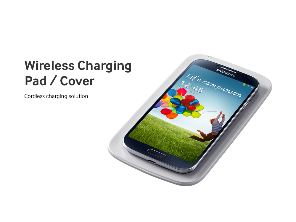 Samsung Galaxy S 4 Wireless Charging Pad Cover
