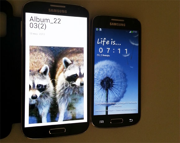 Samsung Galaxy S 4 mini filtrado en vivo