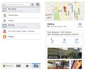 Google Chrome y Maps se actualizan para iOS con varias mejoras