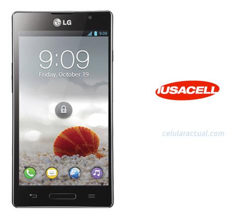 LG Optimus L9 en México con Iusacell