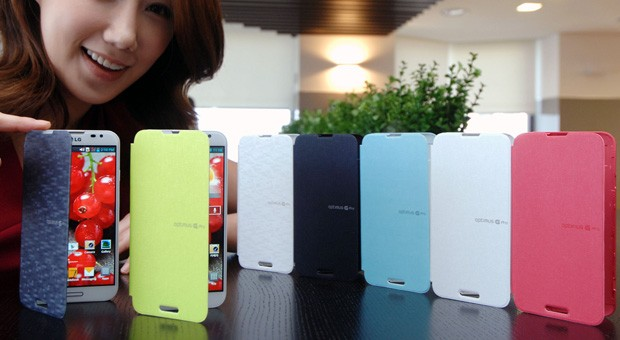 LG Quick Covers para el Optimus G Pro son lanzadas