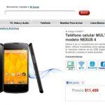 El LG Nexus 4 en modo libre en México