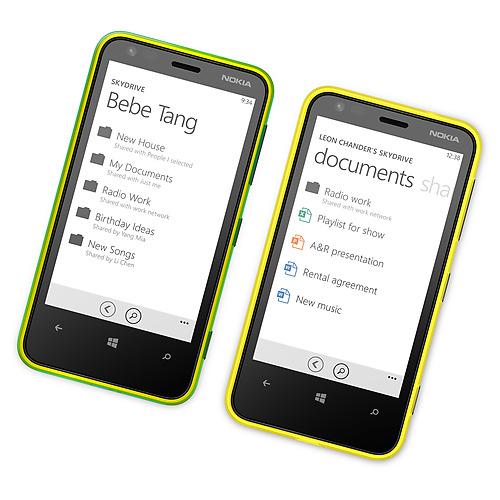 Nokia Lumia 620 en México con Telcel Documentos office