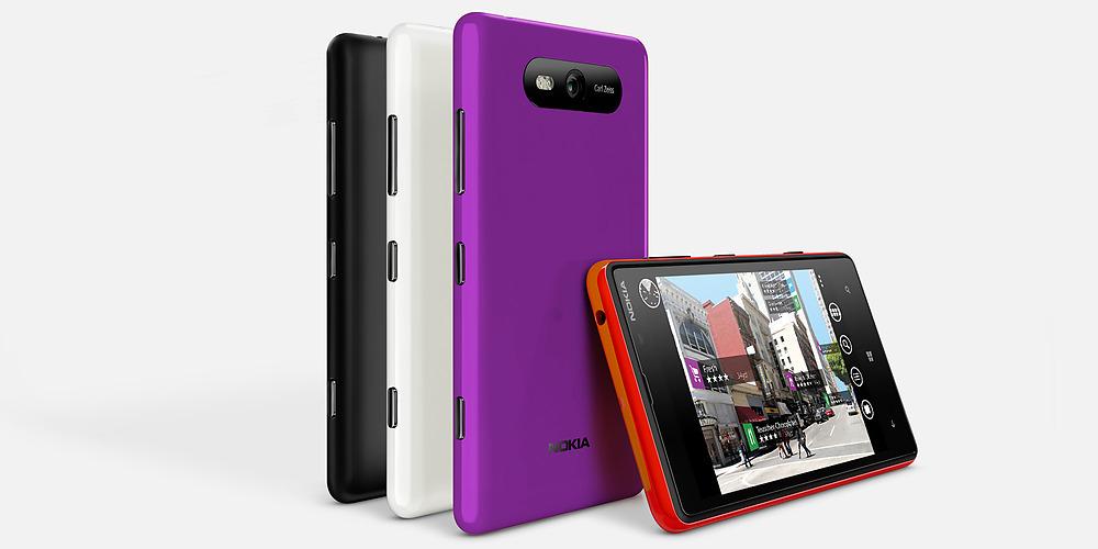 Nokia Lumia 820 en México con Telcel colores disponibles