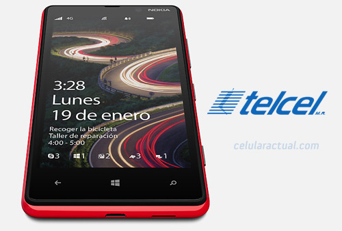 Nokia 820 en México con Telcel  WIndows Phone 8