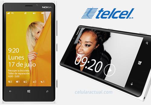 Nokia Lumia 920 en México con Telcel