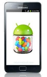 Samsung Galaxy S II recibe Android 4.1.2 Jelly Bean en México con Telcel
