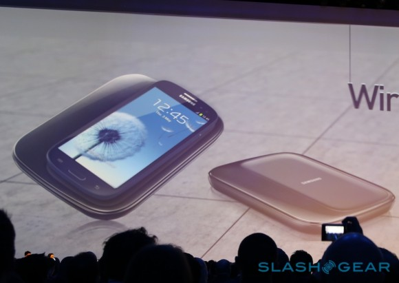 Samsung Galaxy S III cargador inalámbrico Wireless Charging