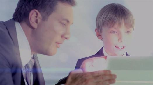Video promocional presentación Galaxy S IV