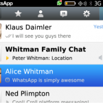 WhatsApp se lanza para BlackBerry 10