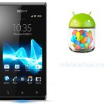 Sony actualiza el Xperia J a Android Jelly Bean 4.1.2
