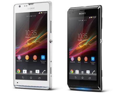 Sony Xperia SP y Xperia L en México