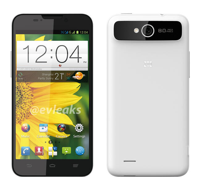 ZTE Ascend X Quad V987