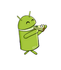 Android Key Lime Pie mascota logo