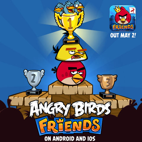 Angry Birds Friends para Android y iOS