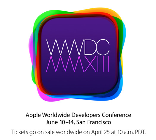 Apple conferencia WWDC 2013 Logo