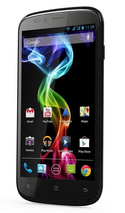 Archos presenta sus smartphones: 35 Carbon, 50 Platinum y 53 Platinum