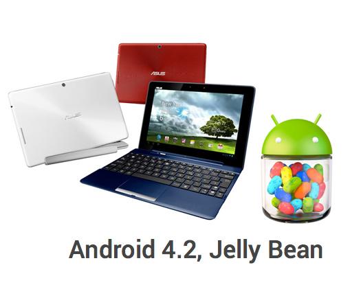 Asus Transformer Pad TF300T actualización Android Jelly Bean 4.2 en México