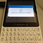 BlackBerry 10 R-Series con Qwerty se filtra imagen