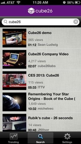 Pausa y reproduce videos con la mirada en iOS