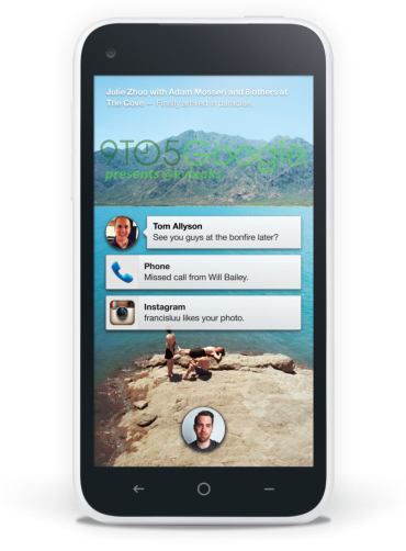 Facebook Home interfaz Android en HTC First