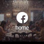Tercer Video comercial de Facebook Home en una aburrida cena