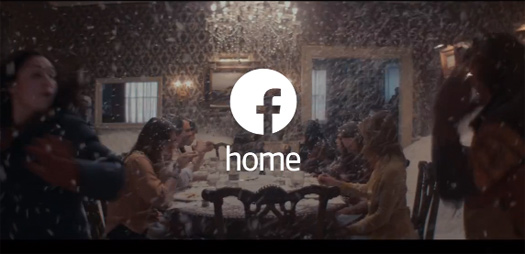 Facebook Home Video comercial